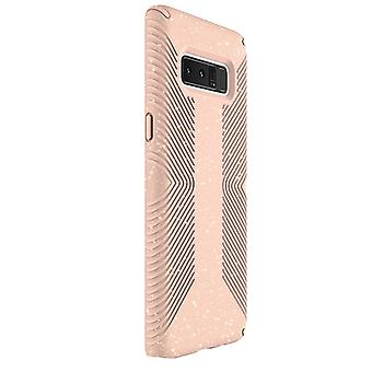 Speck Presidio Clear Grip Case for Samsung Galaxy Note 8 - Bella Pink Glitter