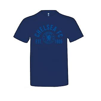 Chelsea Childrens/Kids Navy A établi T Shirt