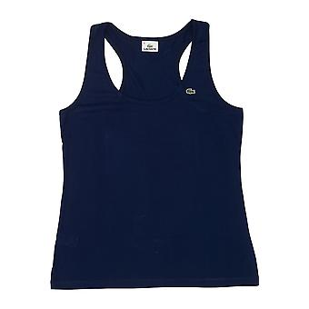 Blaue Marine Lacoste Damen T-shirt