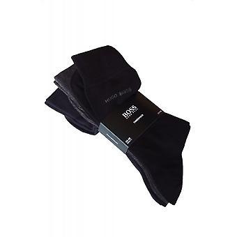 Hugo Boss Strumpor 3 pack svart, grå och marin