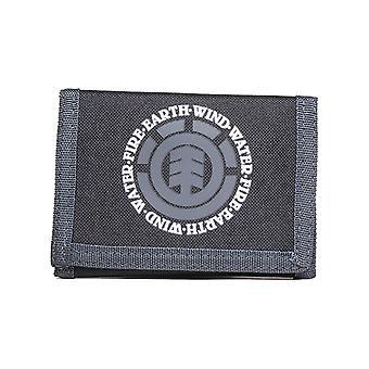 Element Elemental Polyester Wallet in Original Black