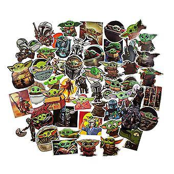 Star Wars, 50x Stickers - Baby Yoda