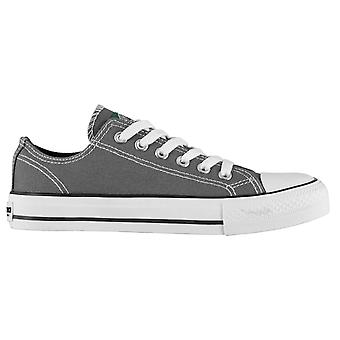 SoulCal Kids Low Junior Canvas Shoes Trainers Pumps Sneakers