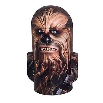 Star wars - chewbacca hoofd vorm tin spaarpot