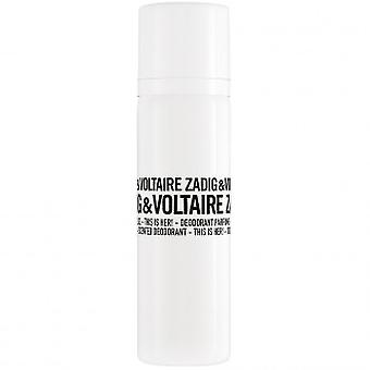 Zadig & Voltaire This Is Her Deodorant spray 100 ml