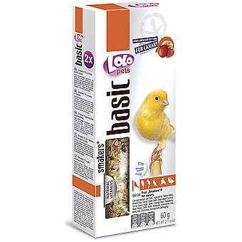 Lolo Lolo 2 Barritas Frutas 60 Grs Canarios (Birds , Bird Treats)