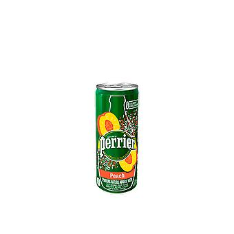 Perrier Slim Cans Peach-( 250 Ml X 30 Cans )