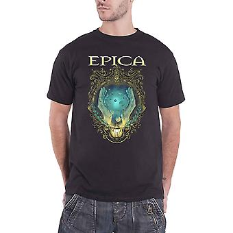 Epica T Shirt Mirror Band Logo new Official Mens Black