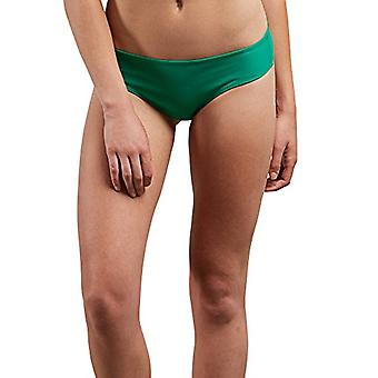 Volcom Women's Simply Solid Cheeky Swimsuit Bikini Bottom, Green Spray, Large