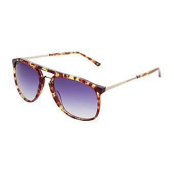 Vespa Original Unisex All Year Sunglasses - Brown Color 30631