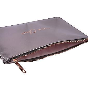 CGB Giftware WR Metallics Grey Tres Chic Beauty Bag