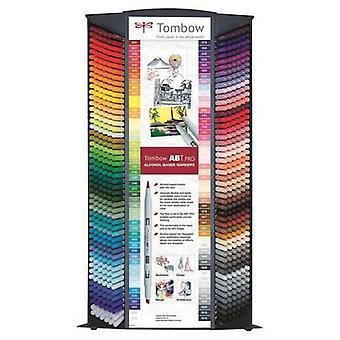Tombow ABT PRO Alcohol - Affichage dual Brush 600 pcs. 92 couleurs 19-ABTP-96C-CONT 6 chacune, 12x N00, 12x 055, 12x 845, 12x N15