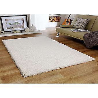 Mjukhet grädde rektangel mattor Plain/nästan slätt mattor