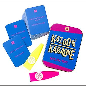 Kazoo Karaoke Party Game Music Trivia Cards Family Fun 2+ Players