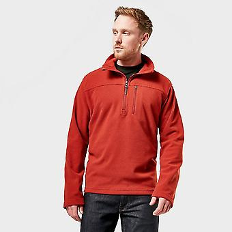 Nieuwe Brasher Men's Half Zip Fleece Red