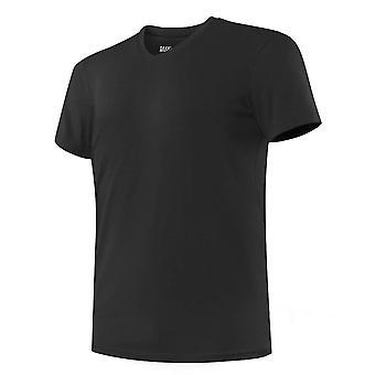 Saxx Underwear Co Undercover Slim Fit V Neck T-Shirt - Black