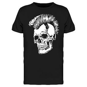 Punk Skull Mohawk Tee Men-apos;s -Image par Shutterstock