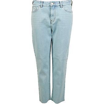 Armani Exchange Orta Rise Kırpılmış Erkek Arkadaş Jeans