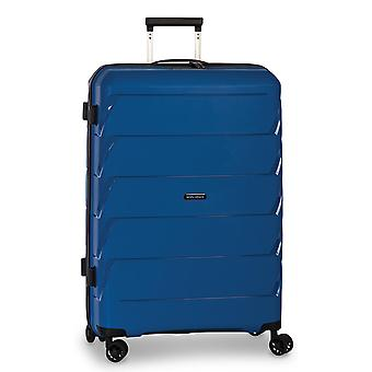 Fabrizio Worldpack Capri Trolley L, 4 wielen, 75 cm, 92 L, blauw