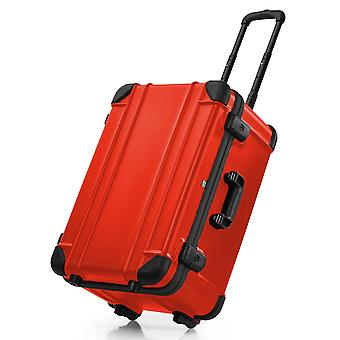 bwh Suitcase Guardian Case Transport Case Type 6 2 Roues avec chariot, Rouge