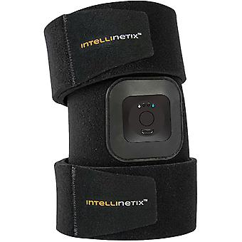 Brownmed Intellinetix Vibrating Quad and Thigh Therapy Wrap - Universal - Black