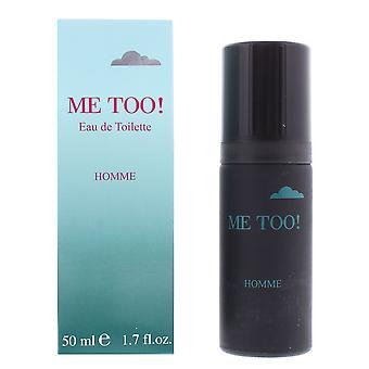 Milton Lloyd Me Too! Homme Eau de Toilette 50ml Spray For Him
