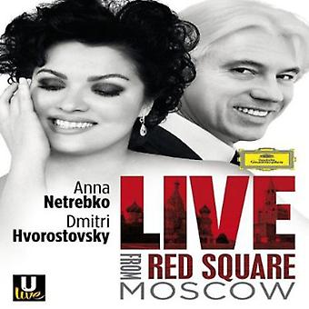 Live From Red Square Moscow [DVD] USA import