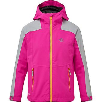 Dare 2B Boys' Avail Waterproof Jacket Pink