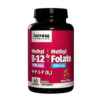 Methyl B-12 und Methylfolat Cherry 800 mcg None