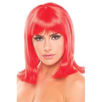 Perruque de poupée - Rouge