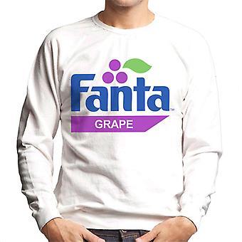 Fanta Grape Retro 1980s Logo Men's Sweatshirt