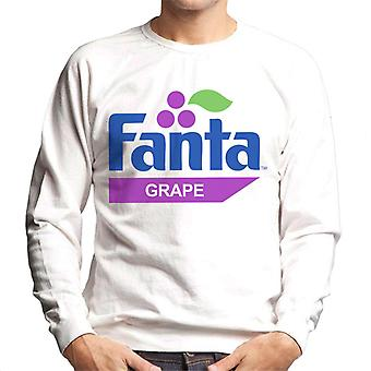 Camisola Fanta Grape retro 1980 logo Men ' s