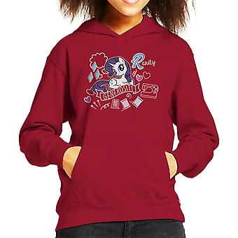 My Little Pony Rarity Full Of Generosity Kid's Hooded Sweatshirt