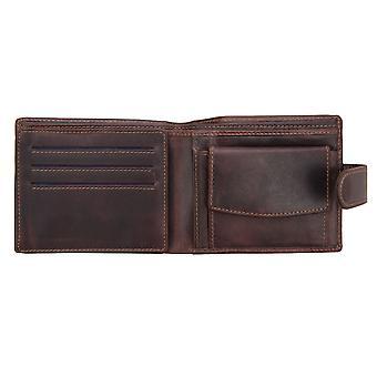 Primehide Mens Leather Wallet RFID Blocking Card Holder Notecase Gents 4704