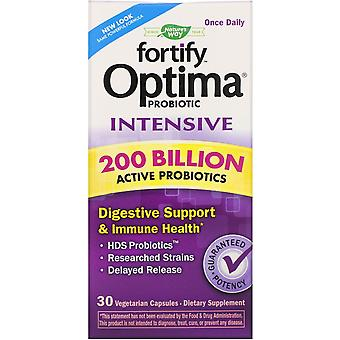 Nature's Way, Fortify Optima Probiotic, Intensive, 200 Billion, 30 Vegetarian Ca