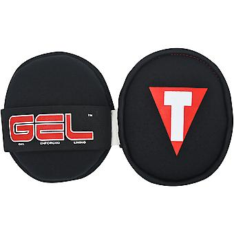 Title Boxing Gel Palm Training Pads - Black/Red