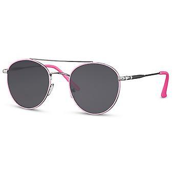 النظارات الشمسية المرأة الطيار / بانتو كات. 3 وردي / أسود