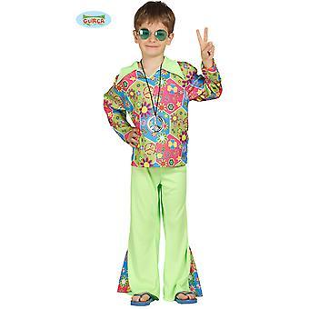 Guirca värikäs hippi puku pudota housut pojille