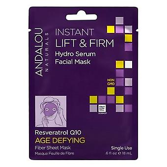 Andalou Naturals Instant Lift & Firm Hydro Serum Facial Mask