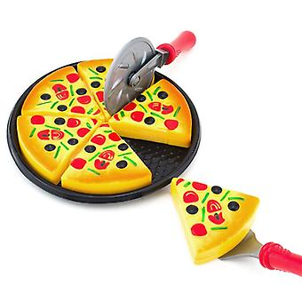 Simulated Pizza Kids Party Fast Food Cooking Cutting Pretend Play Set