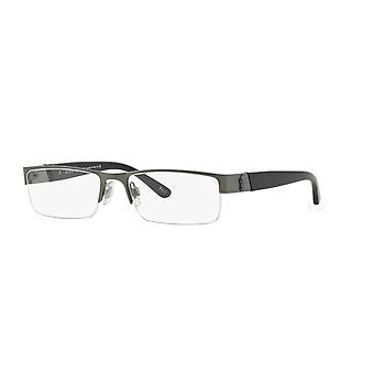 Polo Ralph Lauren PH1117 9157 Brushed Dark Gunmetal Glasses
