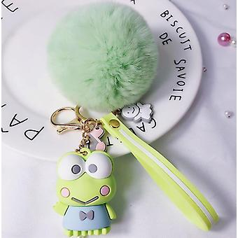 1pc Cute Anime Fur Ball Sleutelhanger - Doll Pluche, Tas Hanger