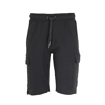 True Religion Black Cargo Shorts