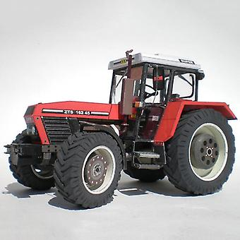 Mini 3d Paper Model Craft- Zetor Tractor, Folding Cutting Toy