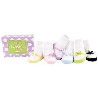 Socks - Trumpette - Suzie Q's Baby Accessories 0-12 Mos Set Of 6