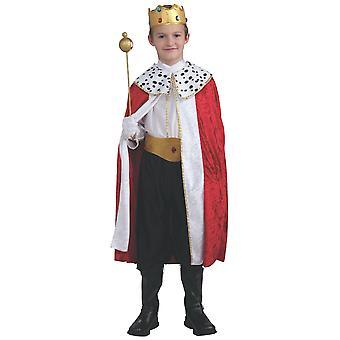 Regal King Renaissance keskiaikainen pukeutua pojat puku