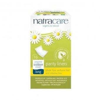 Natracare - Panty Liners Long Wrapped 16pieces