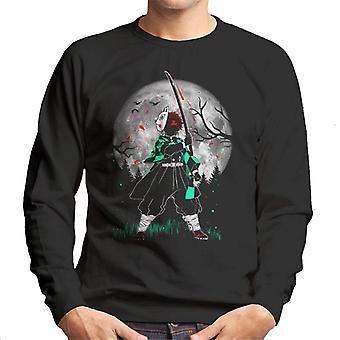 Moon Demon Slayer Kimetsu No Yaiba Men's Sweatshirt