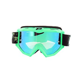 Progrip 3204FLGN Progrip Goggles - 3204 Fluorescent Green