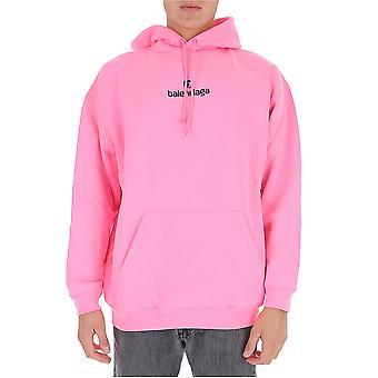 Balenciaga 570811tjve15764 Men's Pink Cotton Sweatshirt